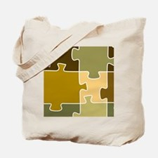 Jigsaw Puzzle Shower Curtain Tote Bag