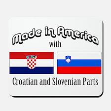 Croatian-Slovenian Mousepad