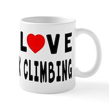 I Love Rock Climbing Mug