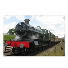 Railway  train Photograph Postcards (Package of 8)