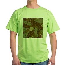 Jungle Leaves Shower Curtain T-Shirt