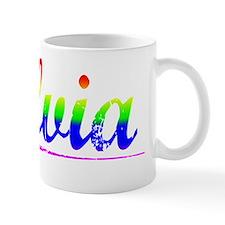 Silvia, Rainbow, Mug