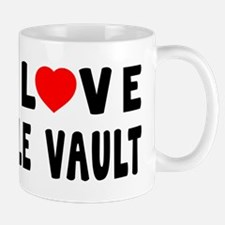 I Love Pole Vault Mug