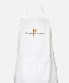 Spooing leads to forking BBQ Apron