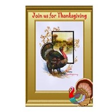 Join us for Thanksgiving Postcards (Package of 8)