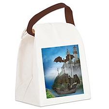 dc_wine_label_679_v_f Canvas Lunch Bag