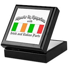 Irish-Italian Keepsake Box