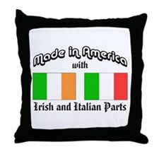 Irish-Italian Throw Pillow