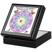 Nth Celtic Wheel Keepsake Box