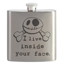 I live inside your face Flask