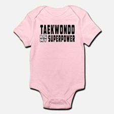 Taekwondo Is My Superpower Onesie