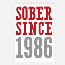 Sober Since 1986 Postcards (Package of 8)