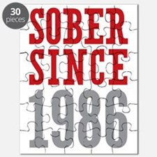 Sober Since 1986 Puzzle