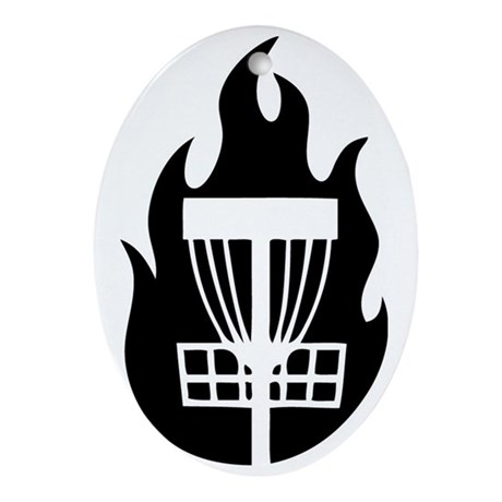 Fire Basket Oval Ornament