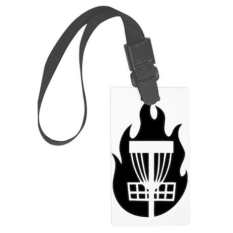 Fire Basket Large Luggage Tag