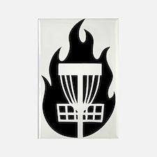Fire Basket Rectangle Magnet