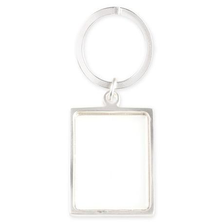Fireball Basket white Portrait Keychain