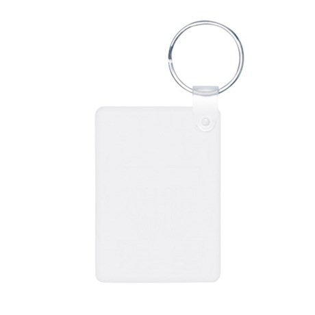 Fireball Basket white Aluminum Photo Keychain