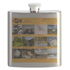 DixPix Classic Calendar 6: Vacation Travels Flask