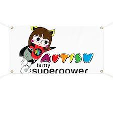 Autism is my superpower Banner