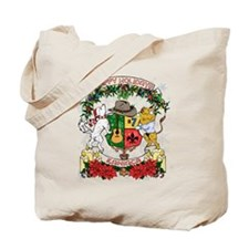 Kaniac Holiday Crest Tote Bag