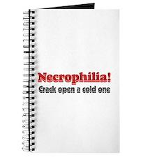 Necrophilia crack open a cold Journal