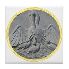 Order of the Pelican Tile Coaster
