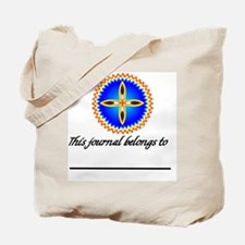 EAGLE FEATHER CROSS MEDALLION Tote Bag