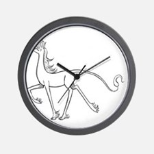 Inner Unicorn Wall Clock