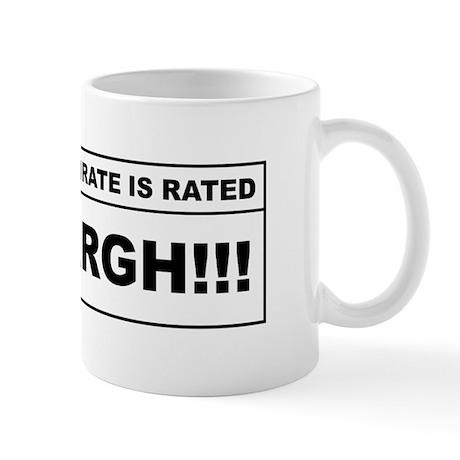 Rated Arrgh! Mug