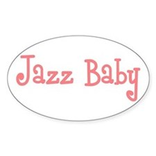 Jazz Baby Oval Decal