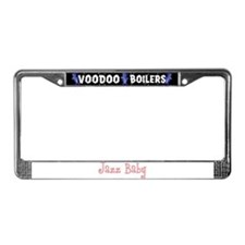 Jazz Baby License Plate Frame
