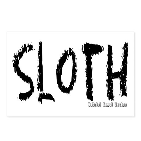 Sloth Logo Postcards (Package of 8)