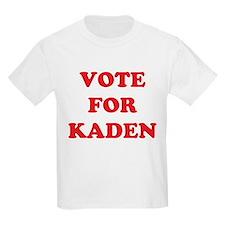 Vote For KADEN Kids T-Shirt