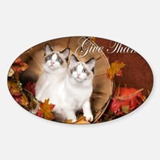 Give Thanks Decal