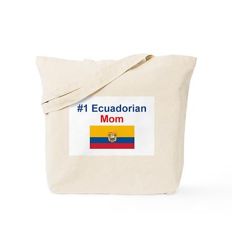 #1 Ecuadorian Mom Tote Bag