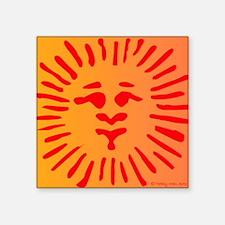 """Sol Invictus Square Sticker 3"""" x 3"""""""