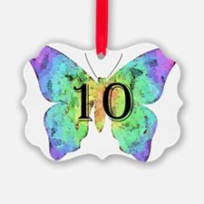 Baby is Ten - 10 Months? or 10 Ye Ornament