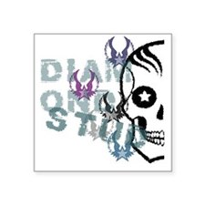 """DS Found: Stoned Cutter Square Sticker 3"""" x 3"""""""