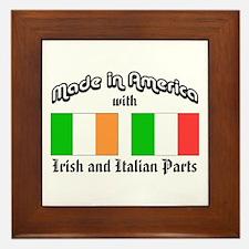 Irish-Italian Framed Tile