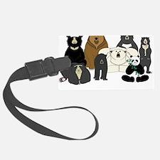 Bears world Luggage Tag