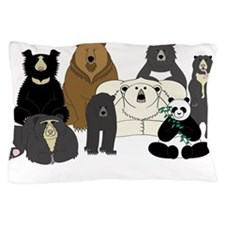 Bears world Pillow Case