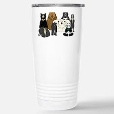 Bears world Stainless Steel Travel Mug