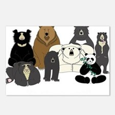 Bears world Postcards (Package of 8)