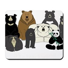 Bears world Mousepad