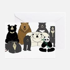 Bears world Greeting Card