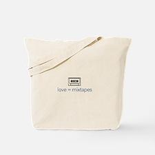love = mixtapes Tote Bag