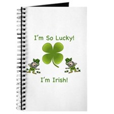 I'm So Lucky I'm Irish Journal
