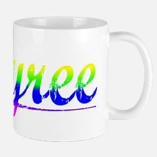 Tyree, Rainbow, Small Small Mug
