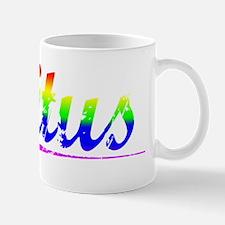 Titus, Rainbow, Small Small Mug